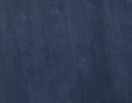 Morceau de cuir de vachette suède bleu navy