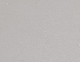 Coupon de cuir de veau nubuck blanc pailleté
