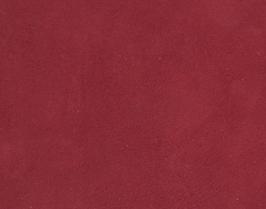 Coupon de cuir d'agneau velours framboise