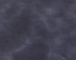 Morceau de cuir de chèvre chagrin bleu marine marbré