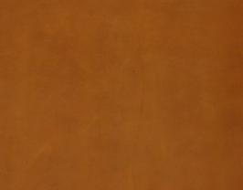 Morceau de cuir de vachette tabac