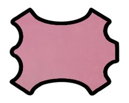 Peau de chèvre rose vintage