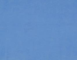 Morceau de cuir de chèvre bleu ciel
