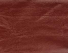 Morceau de cuir de vachette rose foncé brillant