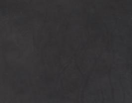Morceau de cuir de vachette nappa noir vintage