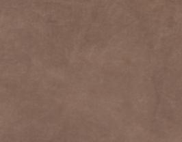 Morceau de cuir de vachette nubuck marron
