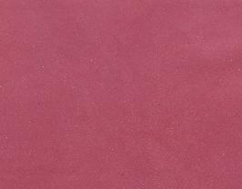 Morceau de cuir de veau grainé rose pailleté