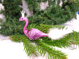 Paradiesvogel pink, 2 Stück