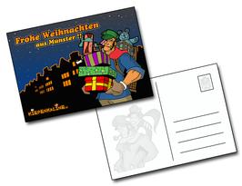 "Postkarte ""Frohe Weihnachten"" - MegaSeeger"