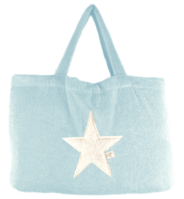 BEACH BAG - Ice Blue - Stern