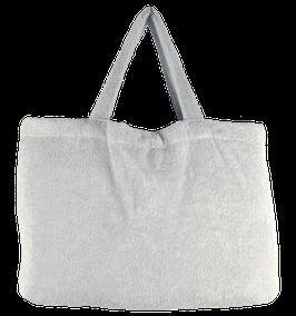 BEACH BAG - Silver - Pur