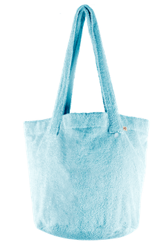 BEACH BASKET - Ice Blue - Pur