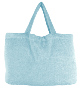 BEACH BAG - Ice Blue - Pur