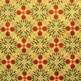 Melba, Kaleidoscope Cream/Orange, Leesa Chandler,04741950819