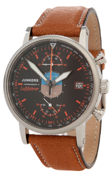 "Junkers ""Luftfahrer"", Aviation inspired, Chronograph"