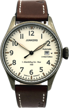"Junkers Edition ""Erster Atlantikflug"", nachtleuchtendes Zifferblatt Automatik"