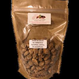 Feves de cacao du Vénézuela caramélisées 230gr