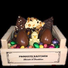 Cagette Gourmande Familiale 3 CHOCOLATS