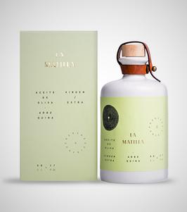 La Matilla  Olivenöl in  Keramik Flasche
