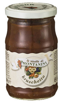 Bruschetta in Olivenöl MONTANINI 280g