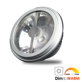 LED AR111 12W 24° DimToWarm 1800-2700K excl. driver