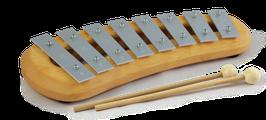 Glockenspiel Diatonisch, 8 Töne
