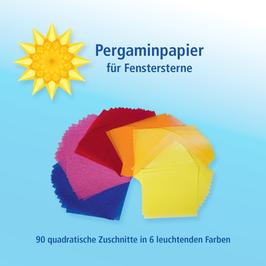 Pergaminpapier für Fenstersterne