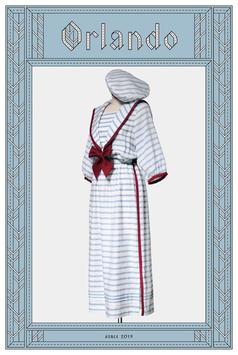 浜辺のドレス<ボーダー>