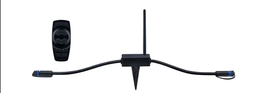 Paulmann Outdoor Plug & Shine Controller IP68 433MHz Remote control Schwarz Kunststoff