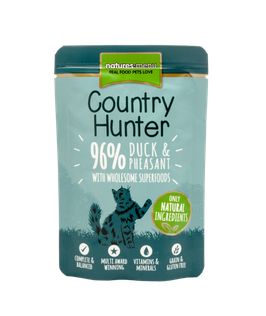 NATURES MENU COUNTRY HUNTER, ENTE & FASAN