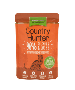 NATURES MENU COUNTRY HUNTER, HUHN & GANS