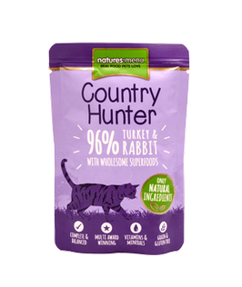 NATURES MENU COUNTRY HUNTER, PUTE & KANINCHEN