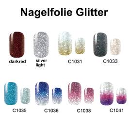 Nagelfolie Glitter