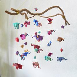 MOBILE ELEPHANT ORIGAMI