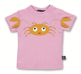 "Ubang, Baby T-Shirt ""Crab Tee"", Crocus"