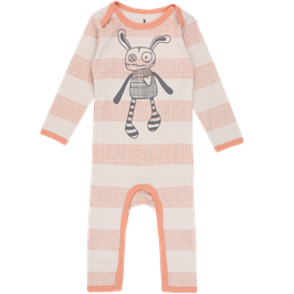 """Small Rags, Strampler """"Real Romper"""", Muted Clay"""