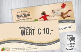 Südwest-Gutschein im Wert von € 10,-