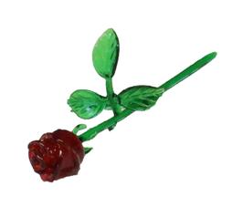 Rose, freigeformt, ca. 15cm