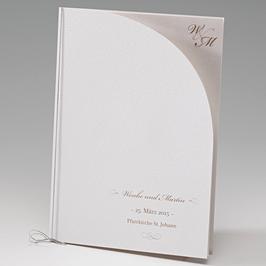 Hochzeitskartenserie Raffaela Kirchenheft Menukarte Raffaela (Bel723491D)