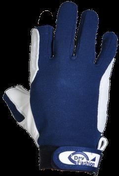 Dry Fashion Leder-Segelhandschuhe MIT Fingerkuppen