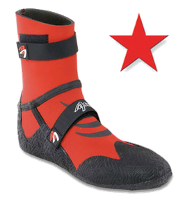 ASCAN Neoprenschuh Star Red 5 mm