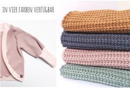 Grobstrick Cardigan - in 4 Farben