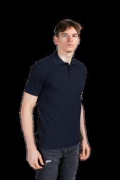 Poloshirt extra lang - Navy