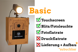 Fotobox VINTAGE - Basic