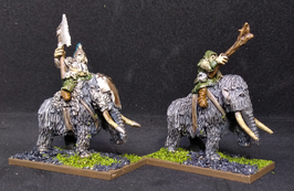 10mm Mammoth Character Pack