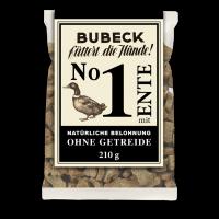 Bubeck - No. 1 mit Ente - getreidefrei- Hundekuchen-210g