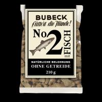 Bubeck - No. 2 mit Fisch - getreidefrei - Hundekuchen-210g
