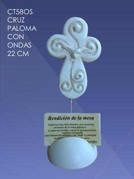 CT58OS CRUZ PALOMA CON ONDAS