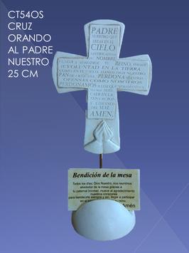 CT54OS CRUZ ORANDO AL PADRE NUESTRO