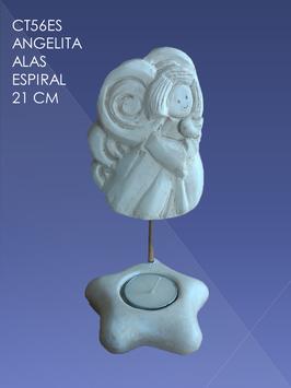 CT56ES ANGELITA ALAS ESPIRAL